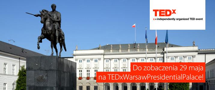 GoldenLine na TEDxWarsawPresidentialPalace