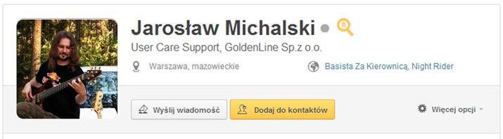 zdjęcie profilowe na GoldenLine