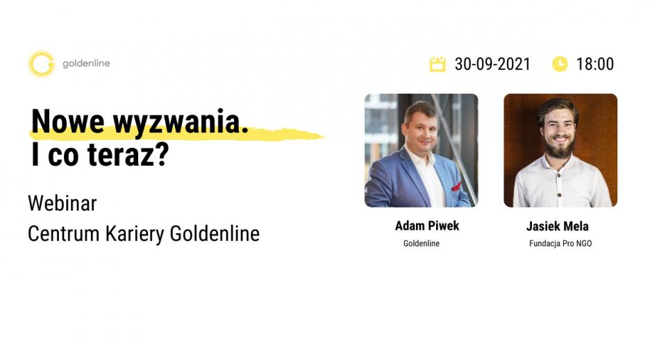 Webinar Goldenline Nowe wyzwania. I co teraz?